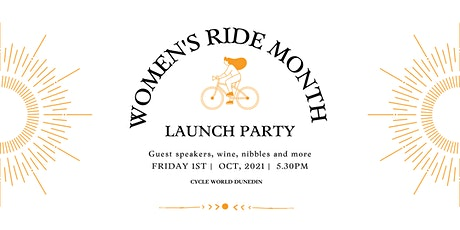 Women's Ride Month - Launch Party tickets