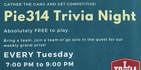 Trivia Tuesdays tickets