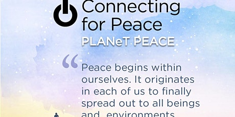 Connecting for Peace | Contribute to World Peace | Heartfulness Meditation tickets