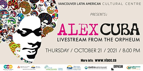 Alex Cuba: Streaming Live from the Orpheum tickets