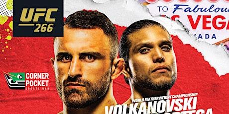 UFC 266 tickets