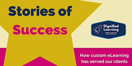 Stories of Success: How custom eLearning has served our clients bilhetes
