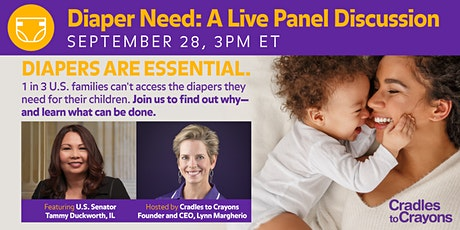 Diaper Need Awareness Discussion Panel tickets