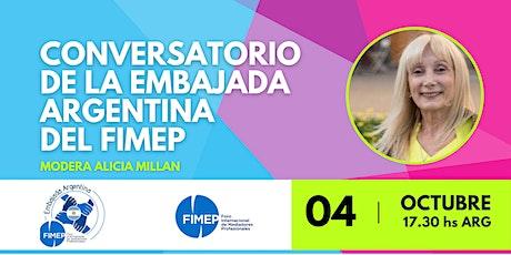 Conversatorio de la embajada Argentina del FIMEP entradas