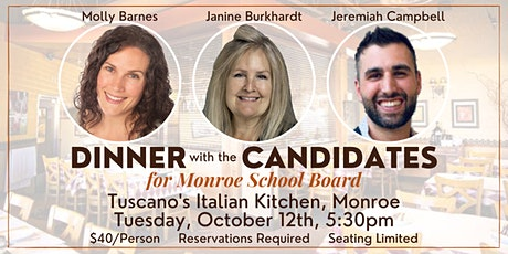 DINNER with the CANDIDATES tickets