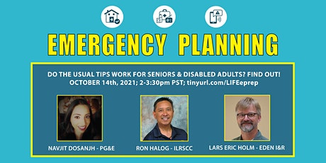 Emergency Planning for Seniors and Disabled Adults tickets