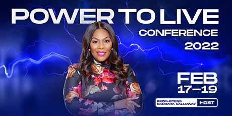 Power to Live Conference tickets