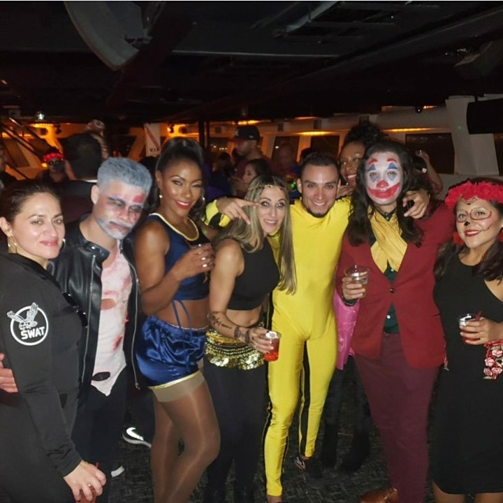 NY Hip Hop vs Reggae® Halloween Friday Midnight SkyportMarina Harmony Yacht image