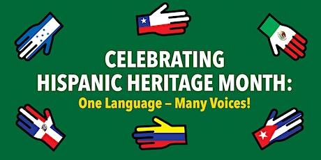 Celebrating Hispanic Heritage Month:  One language—many voices! tickets