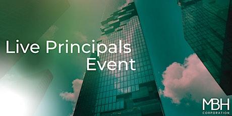 Live Principals Event tickets