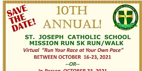 10th Annual Mission Run 5K Run/walk tickets