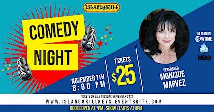 Island Grill Comedy Night Presents Monique Marvez tickets
