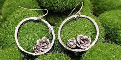 Silver Succulent Earrings tickets
