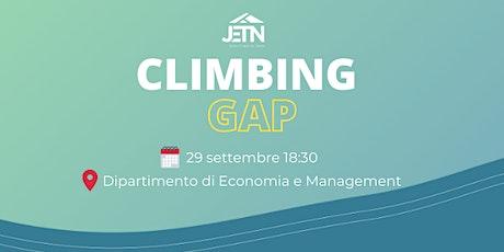 Climbing Gap: l'extracurriculare che il mondo del lavoro apprezza biglietti