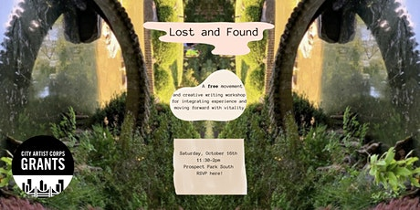 Lost & Found: A Free Movement & Creative Writing Workshop tickets