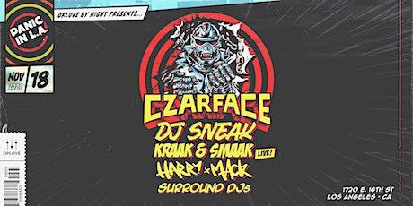PANIC IN L.A. Feat. CZARFACE, DJ SNEAK, KRAAK & SMAAK, HARRY MACK tickets