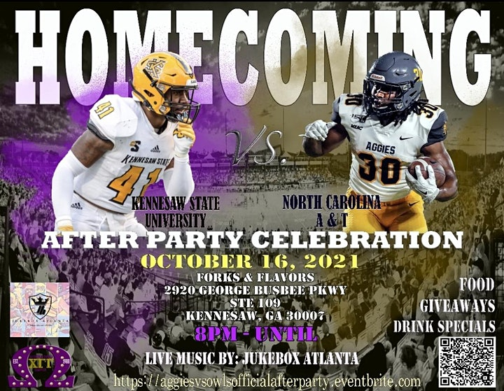 THE Official NC A&T vs Kennesaw State Party image
