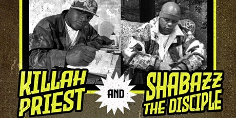 Double Edge Records Presents Killah Priest & Shabazz The Disciple tickets