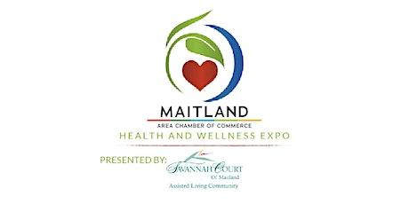 Maitland Health & Wellness Expo Attendee Registration tickets