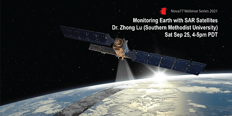 Upcoming Webinar: Monitoring Earth with SAR Satellites tickets