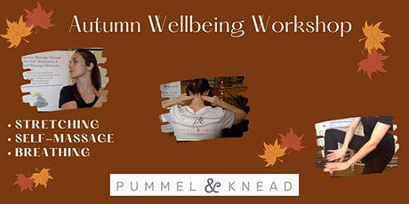 Autumn Wellbeing Session tickets