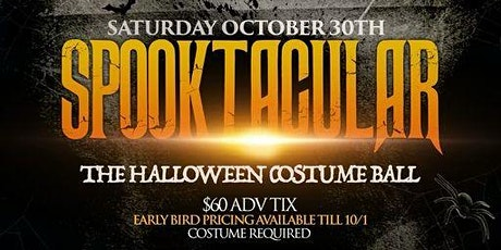 SPOOKTACULAR - A Halloween Costume Yacht party aboard the Hornblower tickets