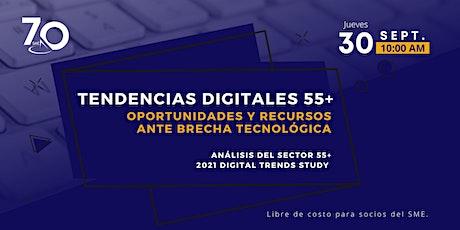 Tendencias Digitales 55+: Oportunidades y Recursos ante Brecha Tecnológica entradas