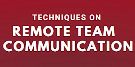 NASA Space Apps Challenge: Remote Communication Workshop boletos