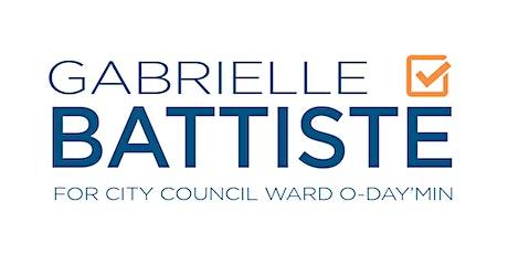 Vote Gabrielle Battiste for City Council O-day'min tickets