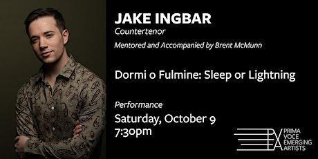 Prima Voce Emerging Artists Presents: JAKE INGBAR tickets
