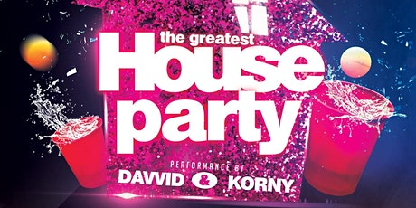 The Greatest House Party tickets