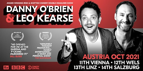 English Stand Up Comedy Night  with Danny O'Brien & Leo Kearse! Tickets