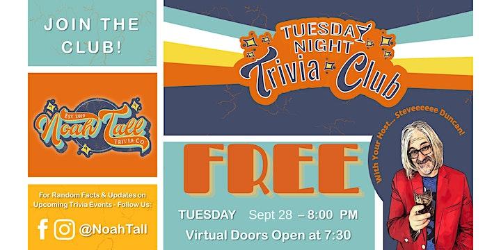 Tuesday Night Trivia Club image