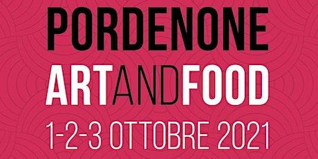 ART and FOOD   Due guide per raccontare una città biglietti