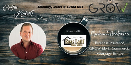 Virtual Coffee Kickoff with Michael Anderson tickets