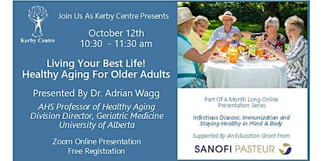 Living Your Best Life! Healthy Aging For Older Adults tickets