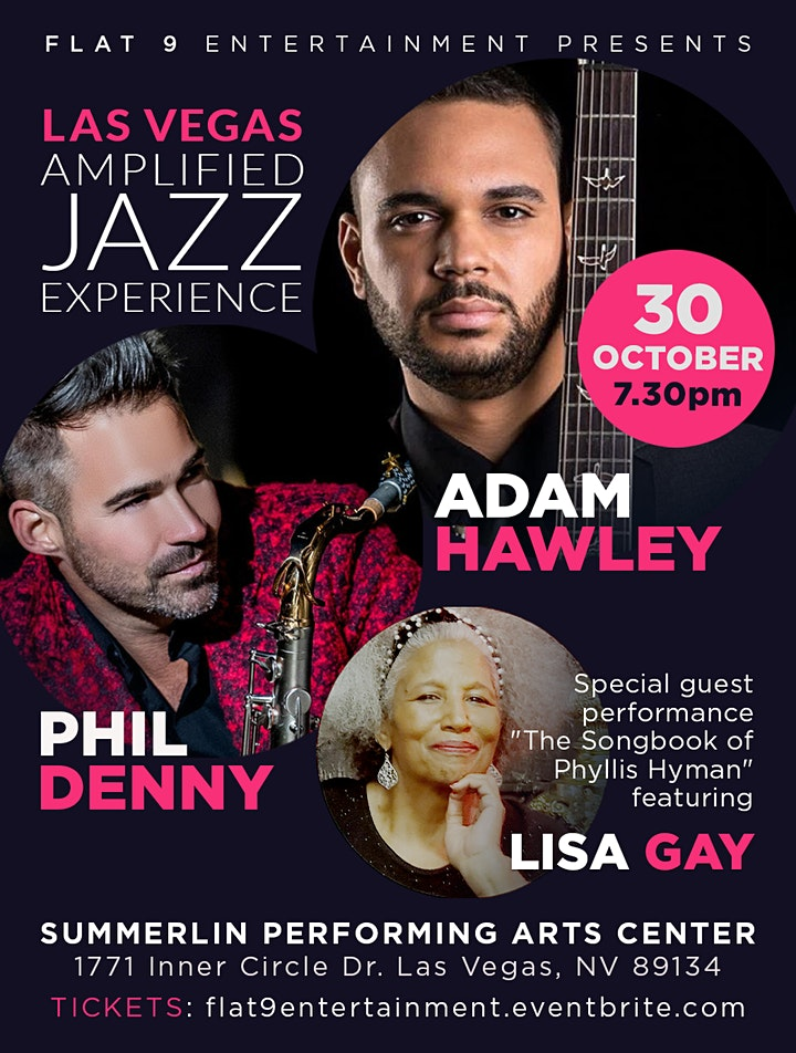 Las Vegas Amplified Jazz Experience - Adam Hawley and Phil Denny image