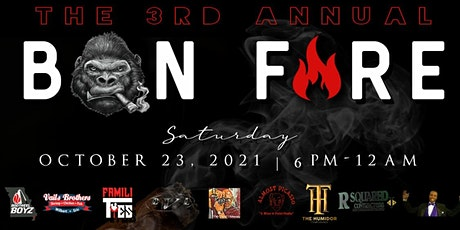 3rd ANNUAL #STOGIEGANG BONFIRE tickets