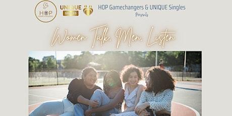 Women Talk - Men Listen tickets