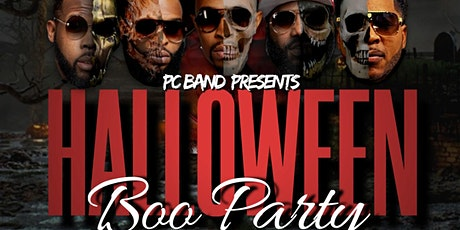 """Halloween """"BOO PARTY""""...Hosted By PC Band tickets"""