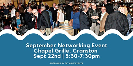 September Networking at Chapel Grille by Pat Cruz Events tickets