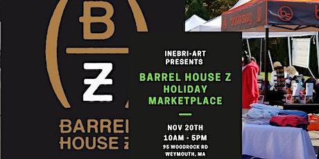 Barrel House Z Holiday Marketplace tickets