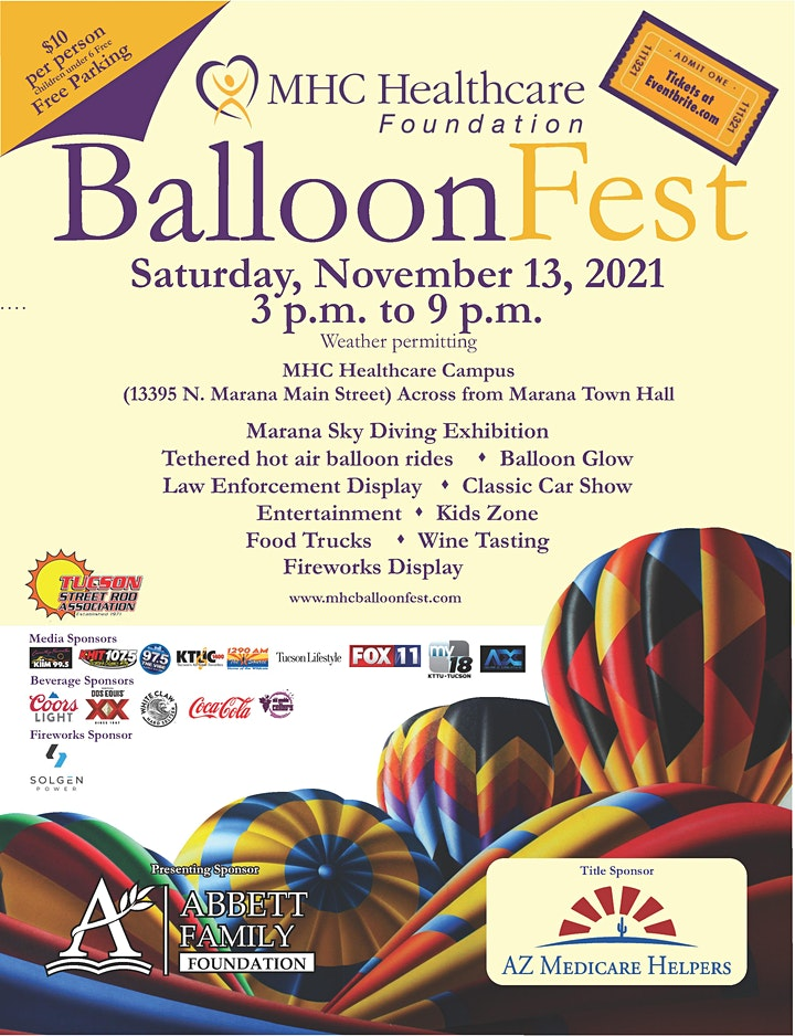2021 MHC Hot Air BalloonFest image