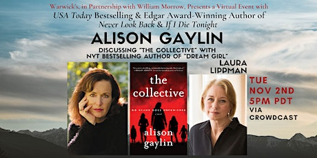 Alison Gaylin w/Laura Lippman discussing THE COLLECTIVE tickets