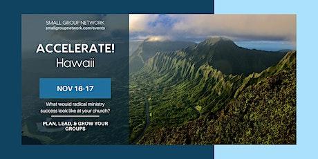 ACCELERATE! Hawaii tickets