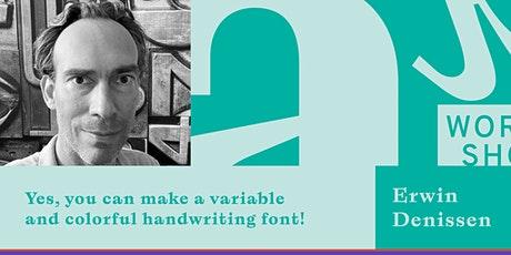 Yes, you can make a variable and colorful handwriting font! tickets