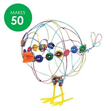 School Holiday Program - Wire Chickens: Ages 5+ tickets