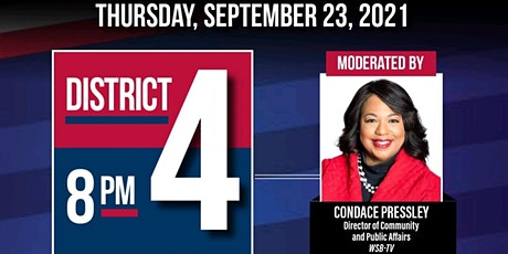 City of Atlanta City Council District 4 Candidate Forum 2021 tickets