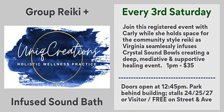 Group Reiki + Crystal Singing Bowls tickets