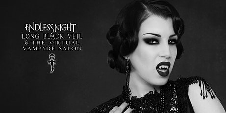 "Long Black Veil & the Virtual Vampyre Salon Ep. 9 ""Samhain Countdown"""" tickets"